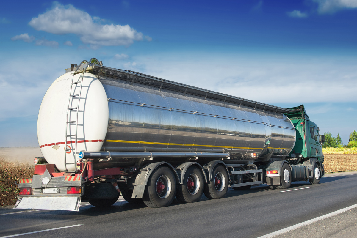 Cleaners, sanitizers and disinfectants in bulk by the tanker